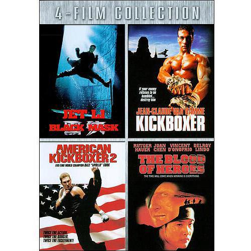 Black Mask   Kickboxer   American Kickboxer 2   Blood Of Heroes by LIONS GATE ENTERTAINMENT CORP