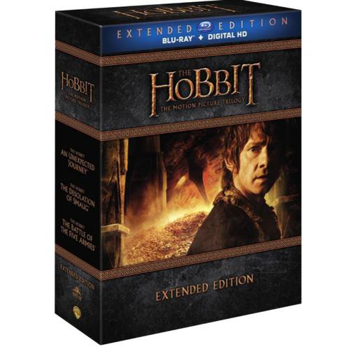 The Hobbit: Motion Picture Trilogy (Extended Edition) (Blu-ray + Digital HD With UltraViolet) (With... by New Line