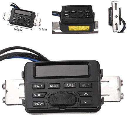 Waterproof Bluetooth Motorcycle Audio FM MP3 Radio Sound System Stereo (Halloween Sounds Internet Radio)