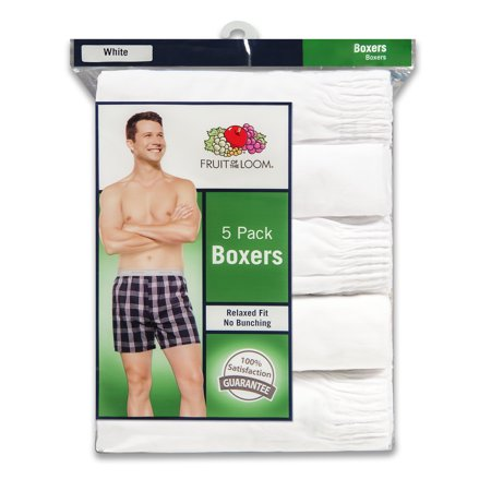Men's Dual Defense Relaxed Fit White Boxers, 5 - The Italian Stallion Boxer