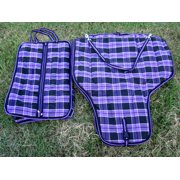 1200D Insulated Western Horse SADDLE BRIDLE CARRIER BAG Purple 4705