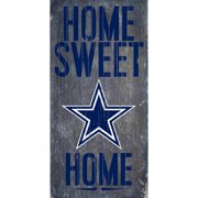Dallas Cowboys 6'' x 12'' Home Sweet Home Sign