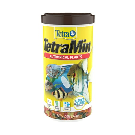 Tetra TetraMin Tropical Fish Food Flakes, XL, 5.65 oz