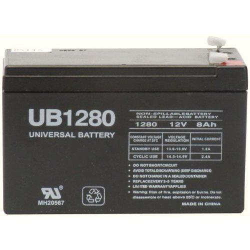 Ereplacements Ub1280-er Battery Unit 8000 Mah - 12 V Dc - Sealed Lead Acid (ub1280er)