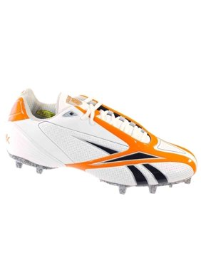 b62d02b6760434 Product Image REEBOK PRO BURNER SPD III LOW M3 MENS FOOTBALL CLEATS WHITE  ORANGE 15