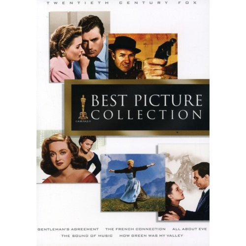 Best Picture Collection: Gentleman's Agreement / The French Connection / All About Eve / The Sound Of Music / How Green Was My Valley