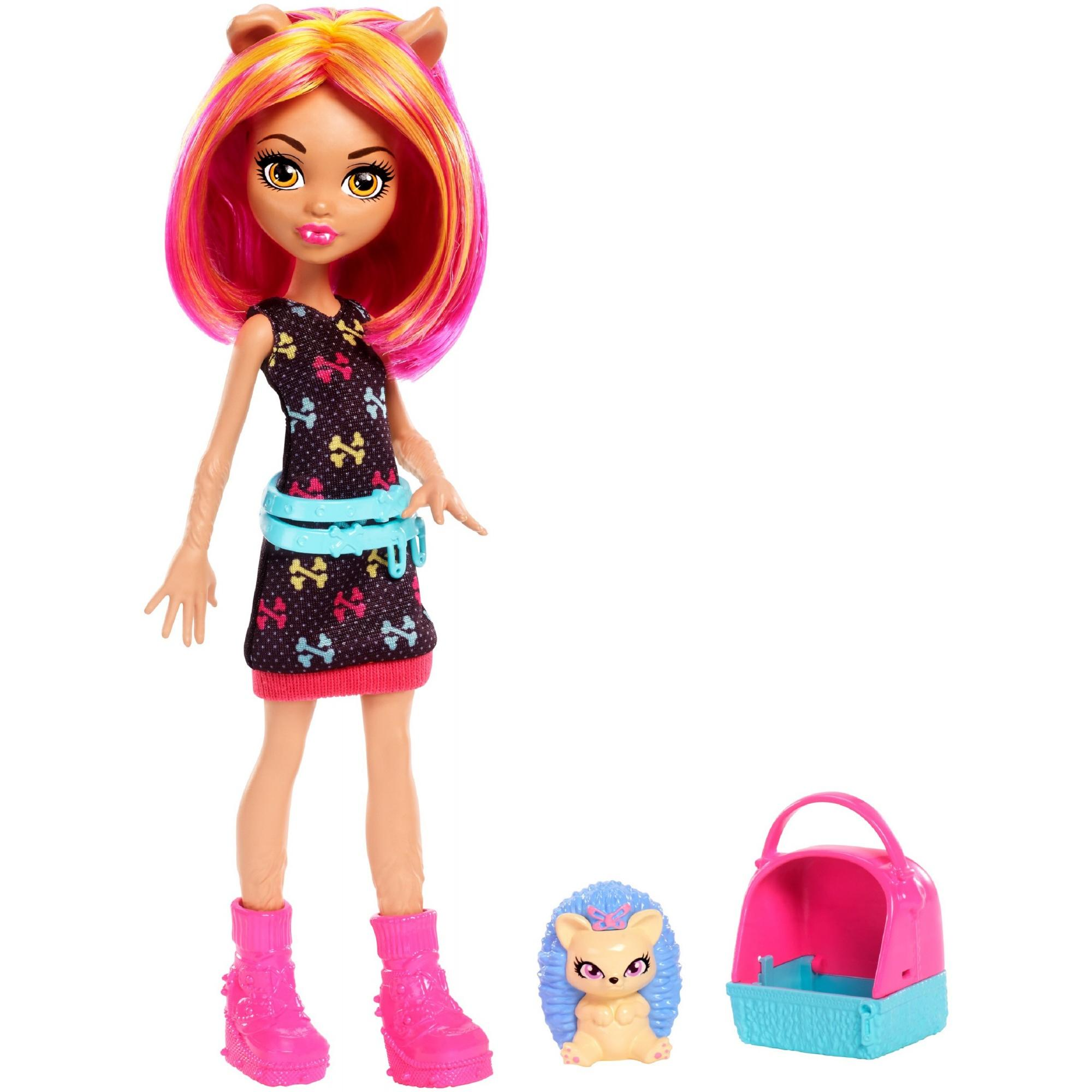 Monster High Monster Family Howleen Wolf & Cushion Doll