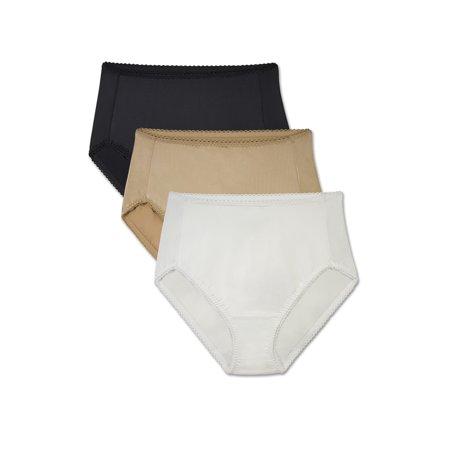Radiant by Vanity Fair Women's Undershapers Light Control Hi-Cut Panty, 3 Pack, Style 3448301 Vanity Fair Daywear Solutions