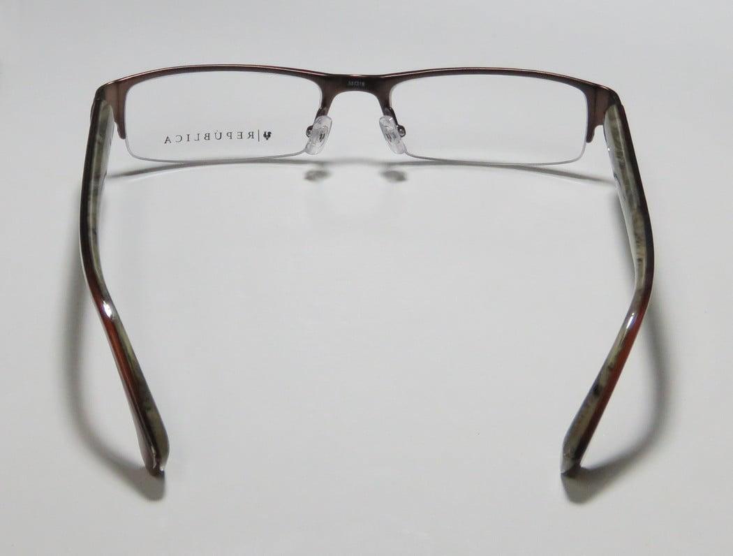 REPUBLICA Eyeglasses PHILLY Gunmetal 53MM - Walmart.com