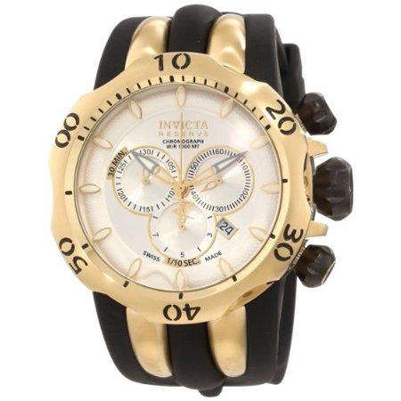 Invicta 10834 Men's Venom Reserve Chronograph Silver Dial Watch