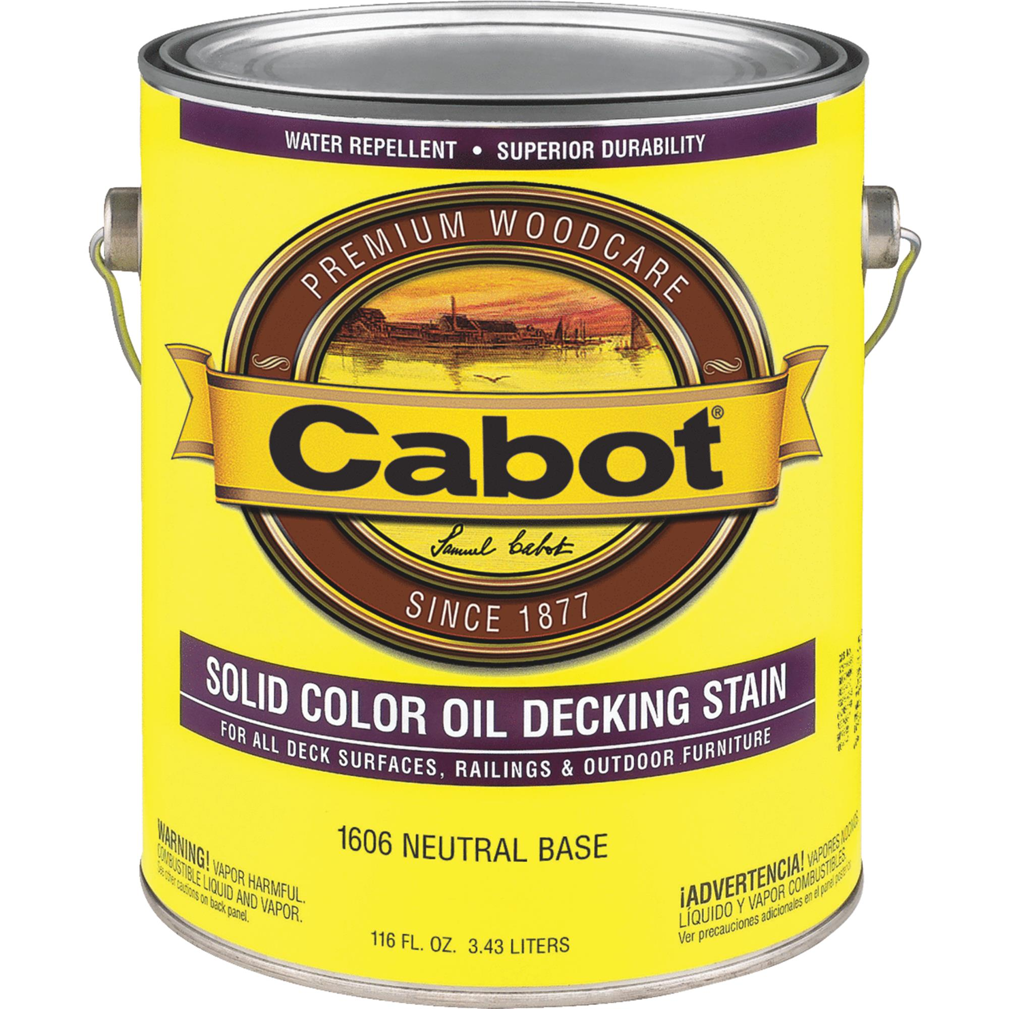 Cabot Solid Color Oil Deck Stain