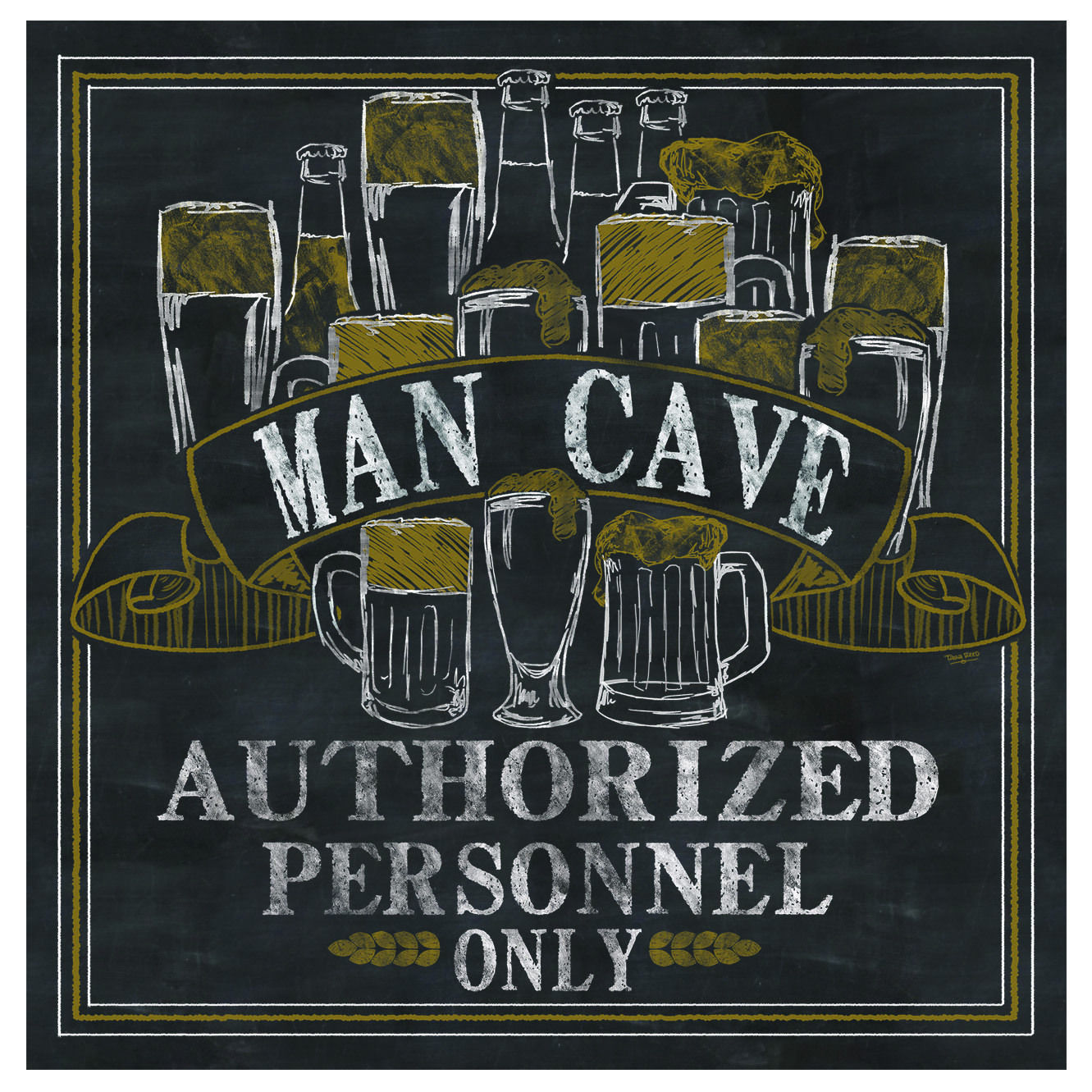 Thirstystone Man Cave Coaster Set by Overstock