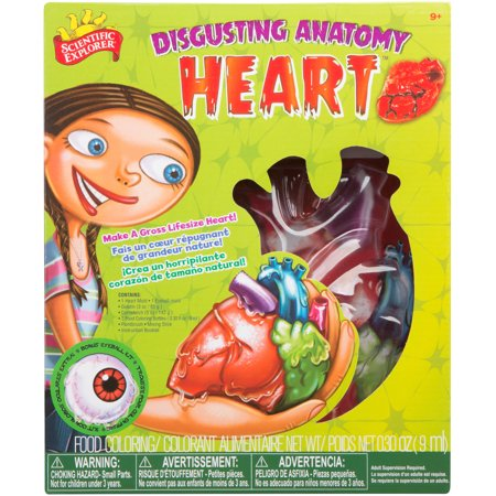Scientific Explorer Disgusting Heart