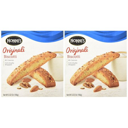 - 12 PACKS : NONNI'S Biscotti Originali 5.52 Oz. Box of 8 Individually Wrapped Biscotti