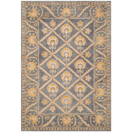 - Safavieh Bella Ellery Bordered Wool Area Rug