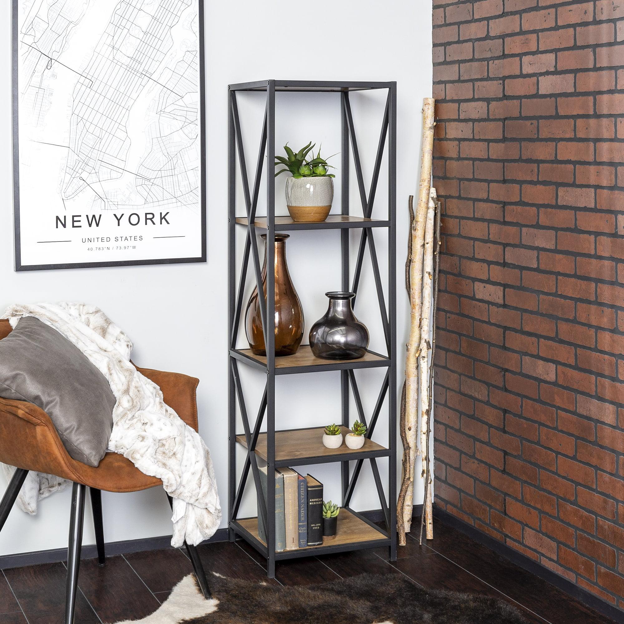 Charlie 4 Shelf Bookshelf by River Street Designs