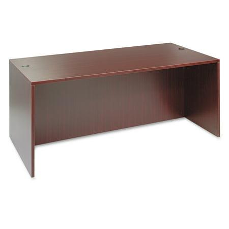 Alera Valencia Series Straight Front Desk Shell,71w x 35 1/2d x 29 (Library Modular Front Desk)