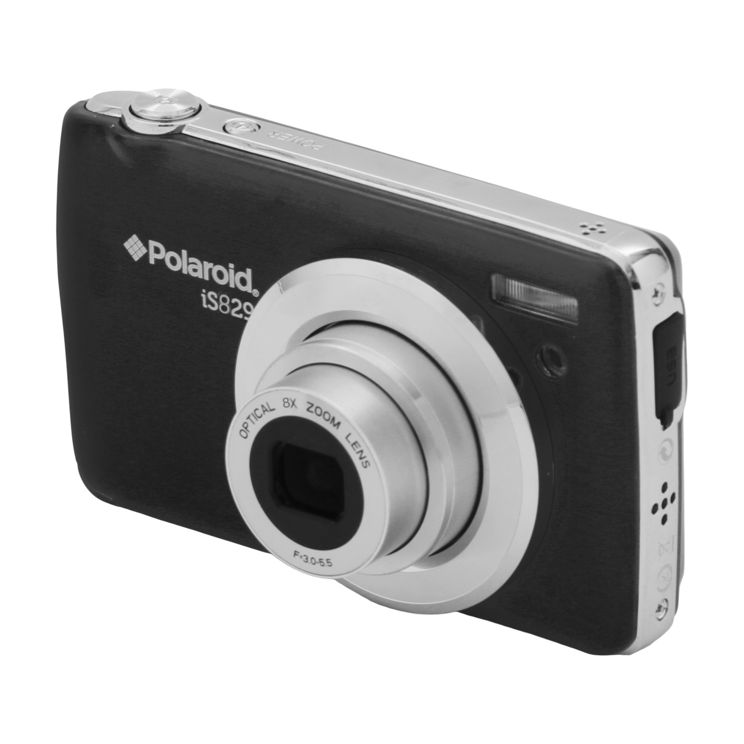 "Polaroid 16MP Digital Camera with 2.7"" Display Screen Black"