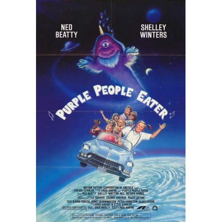 Costumes For 7 People (Purple People Eater POSTER (27x40))