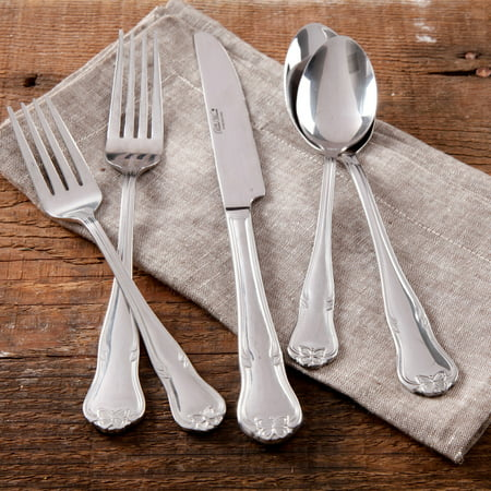 The Pioneer Woman Alex Marie 20-Piece Stainless Steel Flatware Set