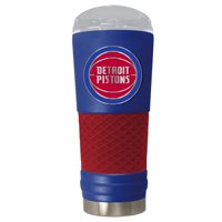 Detroit Pistons 24oz. Powder Coated Draft Travel Mug - Blue