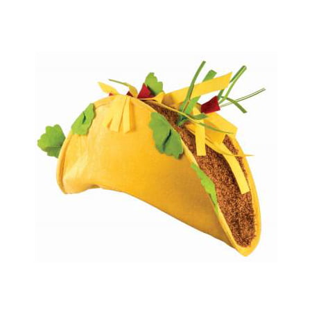 Taco Hat Halloween Costume Accessory (Cat In The Hat Costume For Halloween)