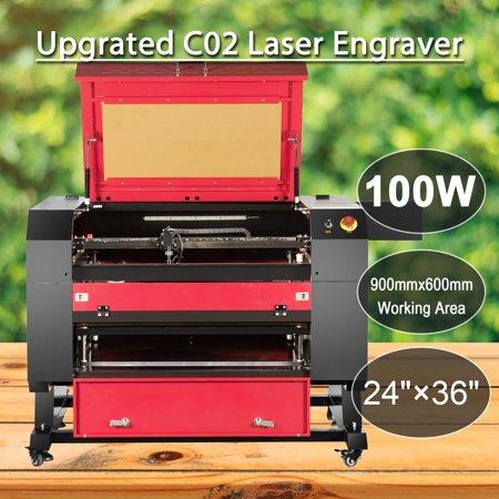 100W CO2 USB Port Laser Engraving Cutting Machine 700x500mm Engraver