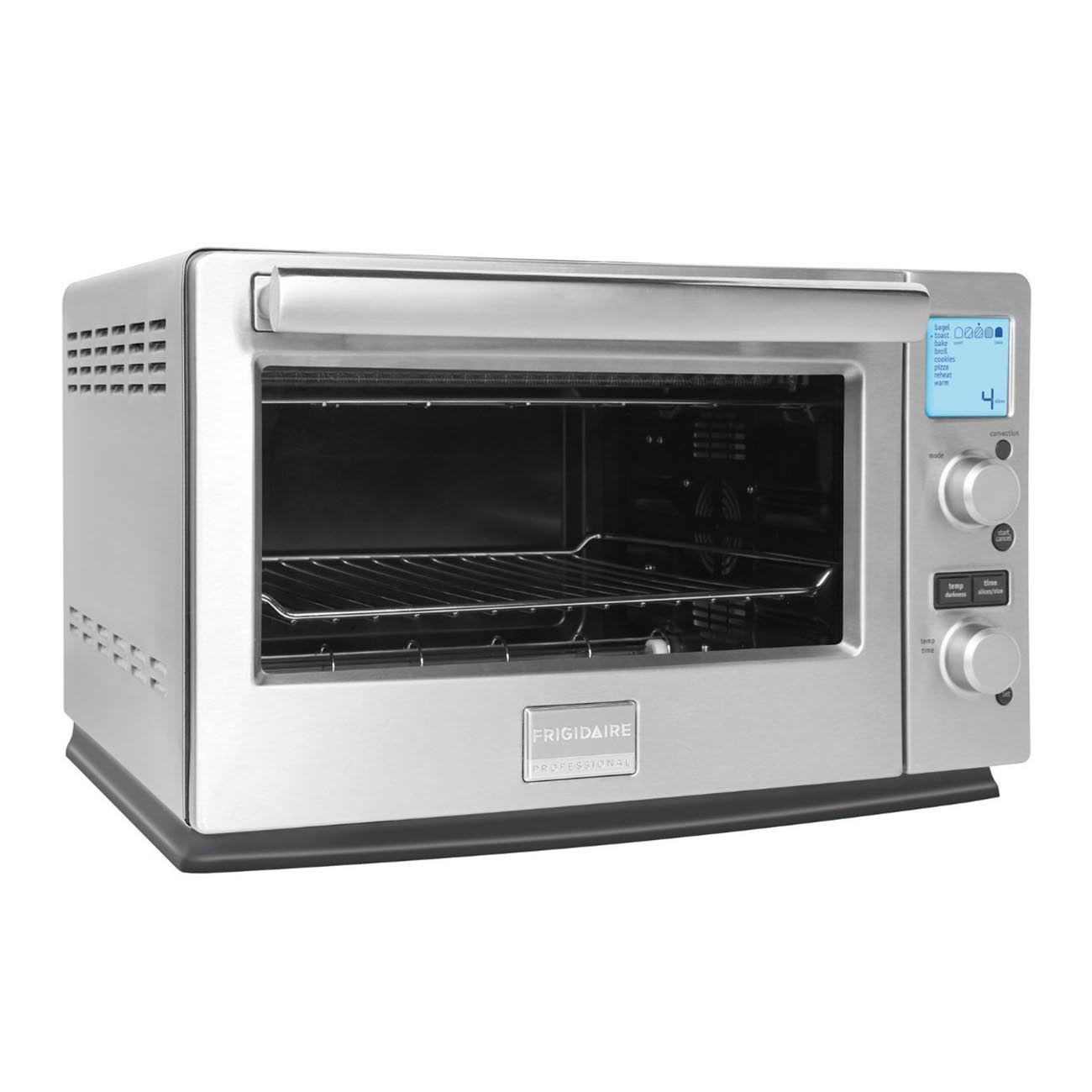 Frigidaire Professional 6-Slice Infrared Convection Toaster Oven, Stainless Steel