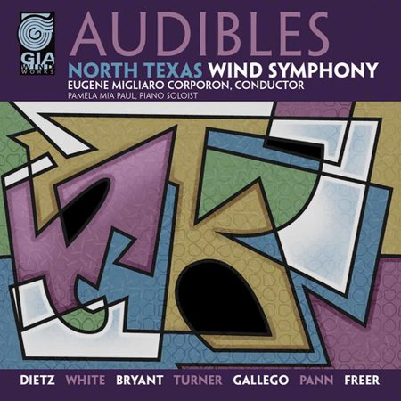 Migliaro Corporon North Texas Wind Symphony   Audibles  Cd