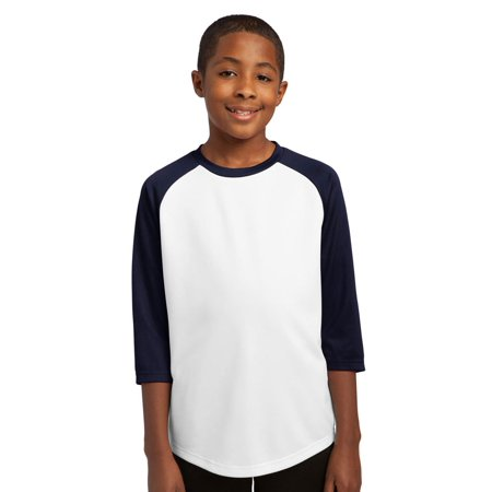 Sport-Tek Youth Durable Baseball Crewneck - Youth Sleeveless Mesh Baseball Jersey