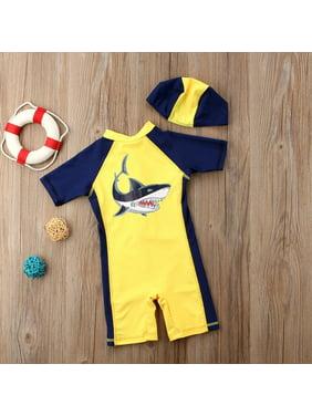 Cute Baby Kids Boys Summer Beach Swimwear Swimsuit Clothes Swimming Costume
