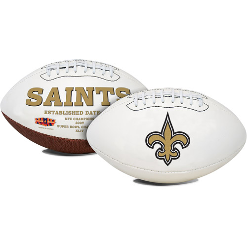 Rawlings Signature Series Full-Size Football, New Orleans Saints
