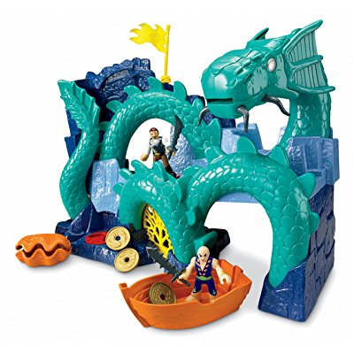 Fisher Price imaginext sea dragon island