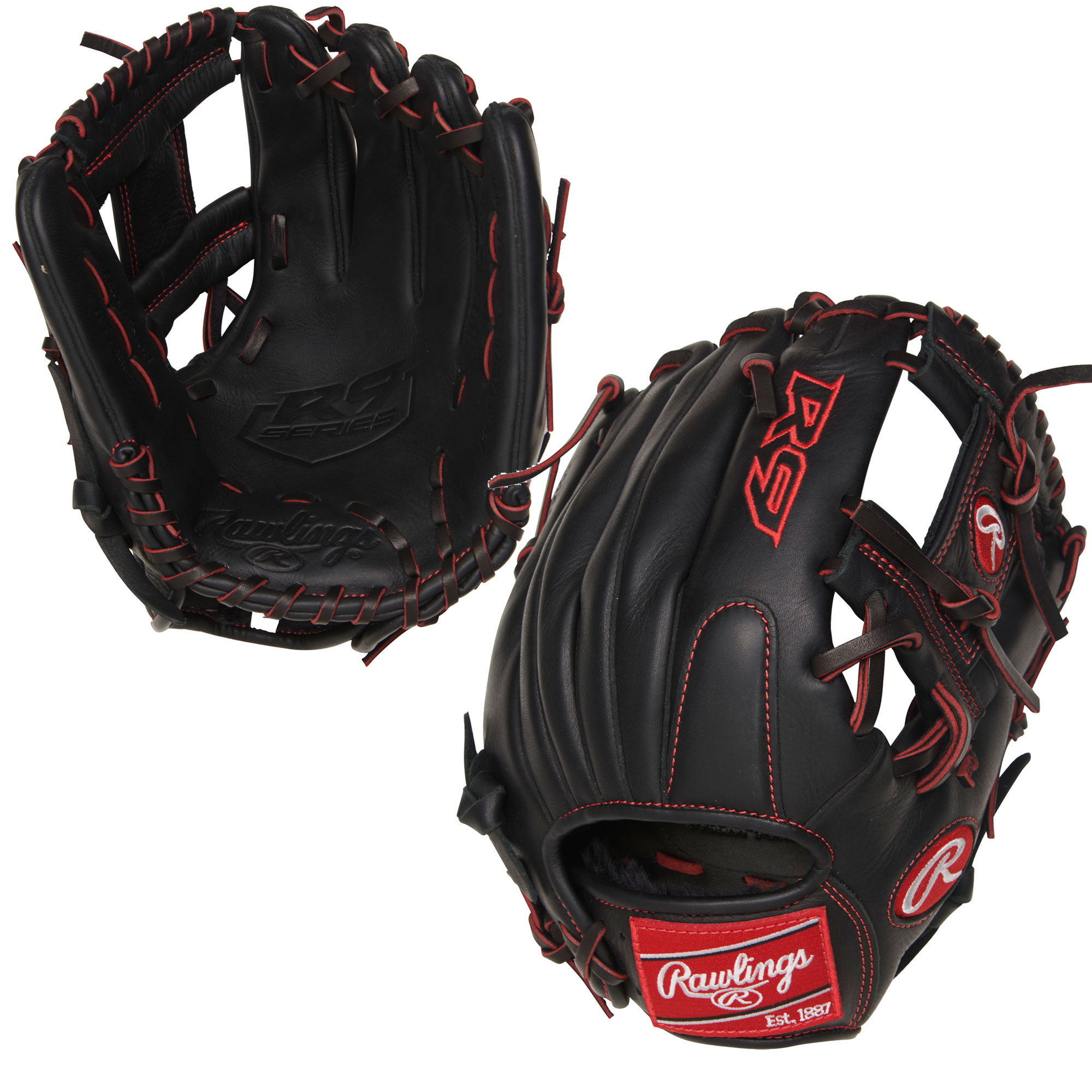 "Rawlings 11.25"" R9 Series Baseball Glove, Right Hand Throw"