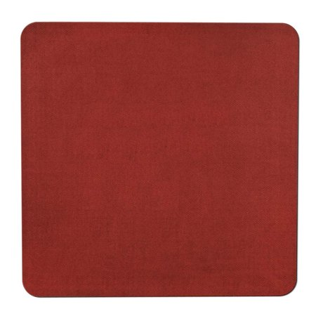 Skid-resistant Carpet Indoor Area Rug Floor Mat - Brick Red - 8' X 8' - Many Other Sizes to Choose - Cheap Red Carpets