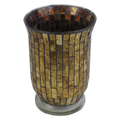 Firefly 8 in. Mosaic Candle Holder