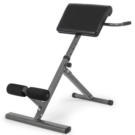 Ktaxon Abdominal Bench - Adjustable Abs Back Hyper-Extension Exercise Roman