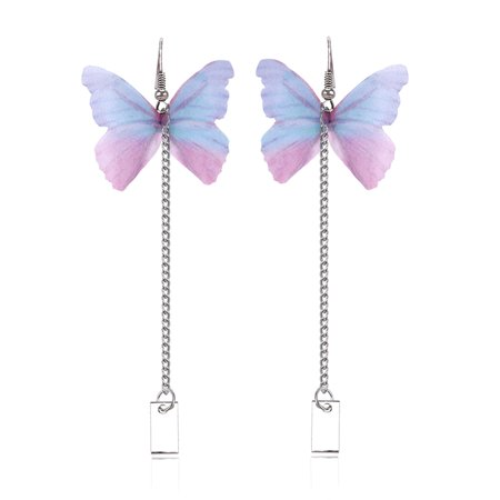 Butterfly Fashion Jewelry - KABOER 2019 New Long Butterfly Earrings for Women Delicate Pearl Cute Earrings Elegant Korean Fashion Jewelry Joker DAMA ACCESSORIES