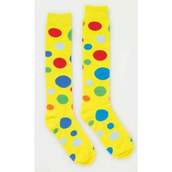 CLOWN POLKA DOT SOCKS - Clown Socks