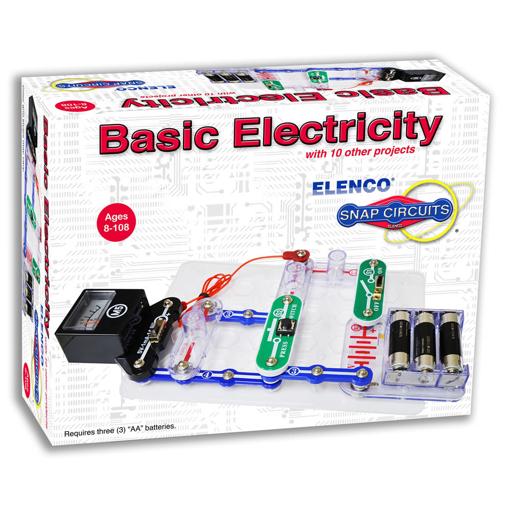 ELENCO SNAP CIRCUITS SCP-11 LED FUN LIGHT KIT-INCLUDES 11 PROJECTS AGES 8+
