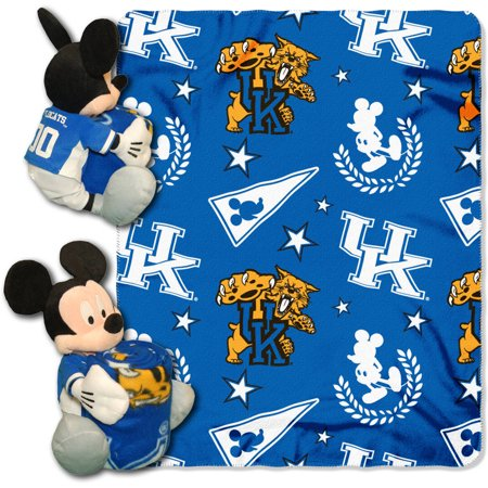 Disney NCAA Kentucky Wildcats Hugger Pillow and 40