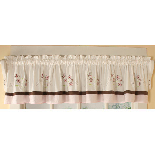 Geenny One Window Valance Blossom Quilt by GEENNY