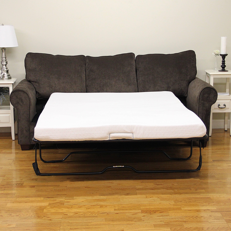 Modern Sleep Memory Foam Replacement Sofa Bed 45Inch Mattress