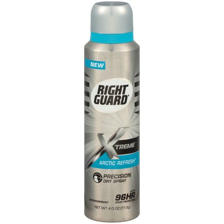 Right Guard Xtreme Antiperspirant Deodorant Dry Spray, Arctic Refresh Precision Dry Spray, 4 (Arctic Guard)