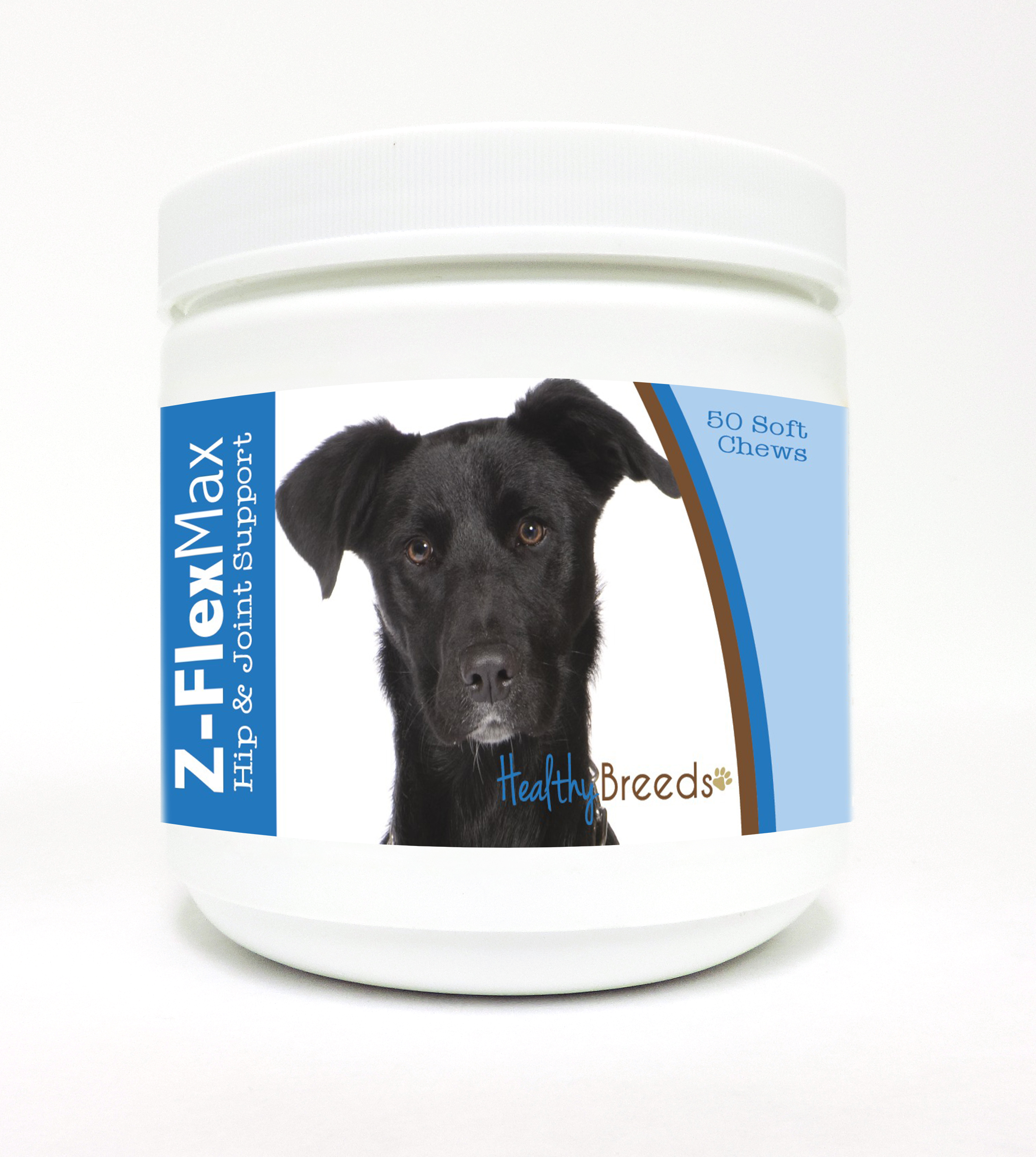 Healthy Breeds Mutt Z-Flex Max Dog Hip & Joint Support Soft Chews 50 Count