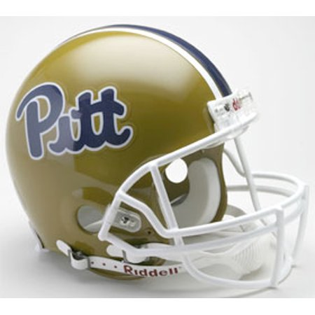 Pittsburgh Panthers Helmet - Riddell Authentic Full Size - 1997-2004 Throwback