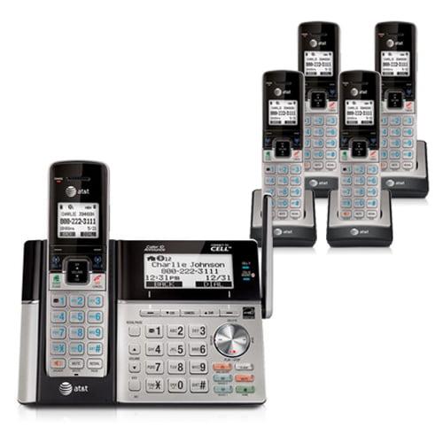 AT&T TL96273 + TL90073 (3) 5 Handset Cordless Phone by AT&T