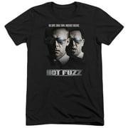 Hot Fuzz Big Cops Mens Tri-Blend Short Sleeve Shirt