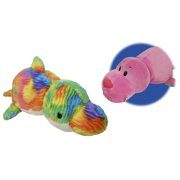 "16"" Seal to Rainbow Dolphin FlipaZoo 2 in 1 Plush"