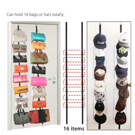 Cap Rack Baseball Hats Visors Wall Door Hanger Holder Hook